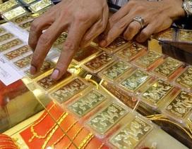 """Vàng """"phi"""" SJC bị ép giá, từ chối mua"""