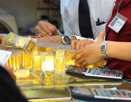 """Vàng và USD """"rủ nhau"""" rớt giá"""