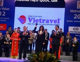 Vietravel được công nhận là Thương hiệu quốc gia 2012
