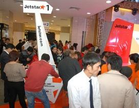 Gần 1.000 hành khách trực tiếp mua vé rẻ Jetstar Pacific