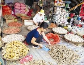 Nông, thủy sản Trung Quốc tràn ngập chợ
