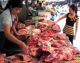 Chuyện lạ: Mua thịt, rau Hà Nội chuyển về quê