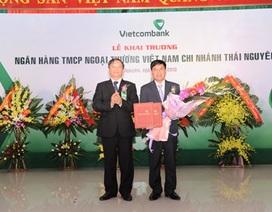 Vietcombank khai trương chi nhánh Thái Nguyên