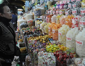 Kẹo mứt Trung Quốc tràn ngập các chợ