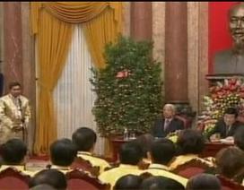 Chủ tịch nước gặp mặt doanh nhân tiêu biểu