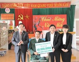 Vietcombank trao tặng quà Tết tại tỉnh Phú Thọ