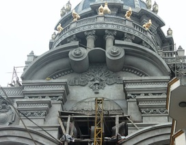 Tòa lâu đài hàng chục tỉ của đại gia buôn sắt Cầu Giấy