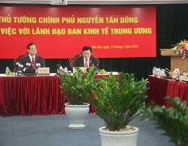 Thủ tướng: Cần nâng cao vai trò tham mưu của Ban Kinh tế Trung ương