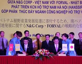 Ngành Công nghiệp hỗ trợ Hà Nội và triển vọng hợp tác với Nhật Bản