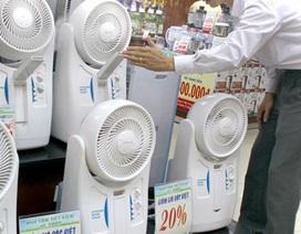 Hàng giải nhiệt bán chạy vì nắng nóng