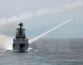 Ba hạm đội của Hải quân Nga đồng loạt tiến hành tập trận