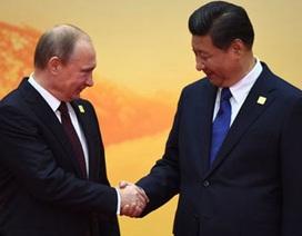 Trung Quốc bắt tay Nga bất chấp cấm vận phương Tây