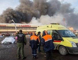 CH Tatarstan công bố quốc tang sau vụ cháy trung tâm Admiral