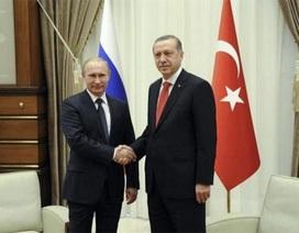 Tổng thống Nga-Thổ Nhĩ Kỳ bàn về dự án Dòng chảy Thổ Nhĩ Kỳ