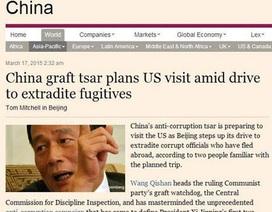 """Bao Công Trung Quốc """"săn cáo"""" ở Mỹ"""