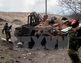 OSCE tố quân đội Ukraine bắn phá dữ dội ngôi làng thuộc tỉnh Donetsk