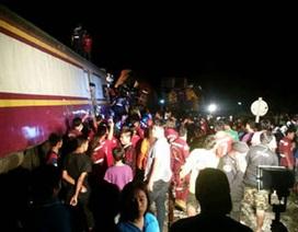 Thái Lan: Tai nạn tàu hỏa, hơn 40 người bị thương