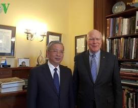 Thượng tướng Nguyễn Chí Vịnh nói về quan hệ quốc phòng Việt - Mỹ