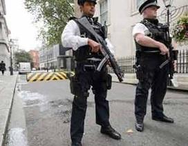 Anh bắt giữ 4 kẻ tình nghi khủng bố