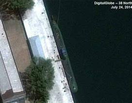 Triều Tiên đang sở hữu tàu ngầm mới trang bị tên lửa đạn đạo?