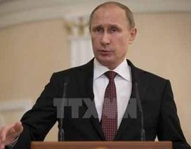 Putin: Nga không bao giờ khuất phục trước sức ép ngoại bang