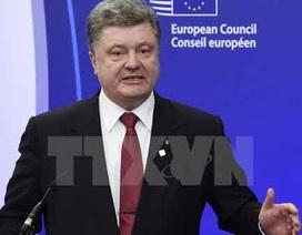 Ukraine sửa đổi tình trạng thiết quân luật