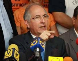 Venezuela: Thị trưởng Caracas bị bắt giữ vì âm mưu đảo chính