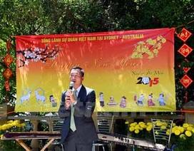 Hoạt động mừng Xuân Ất Mùi của kiều bào tại Israel và Australia