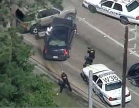 Cảnh sát Mỹ bắn chết nghi phạm khi TV đang tường thuật trực tiếp