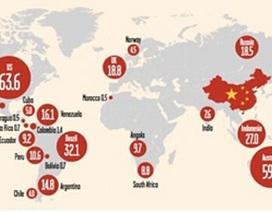 """Nhiều nước sẵn sàng từ chối """"ông nhà giàu"""" Trung Quốc"""