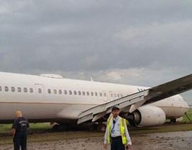 Mỹ: Máy bay trượt đường băng, hàng trăm khách khiếp đảm