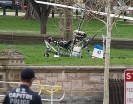 Bắt giữ đối tượng đáp trực thăng xuống tòa nhà Quốc hội Mỹ