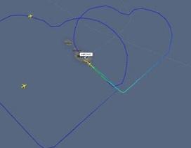 Dùng máy bay vẽ tình yêu lên trời