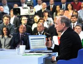4 nội dung chính buổi đối thoại của Tổng thống Putin với người dân