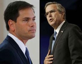 """Bầu cử Tổng thống Mỹ: Đảng Cộng hòa """"huynh đệ tương tàn"""""""