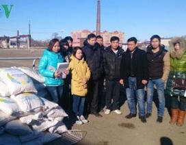 Người Việt tại Nga đùm bọc nhau sau vụ cháy chợ ở Kazan