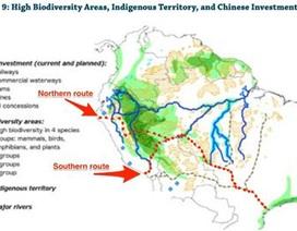 """""""Thảm họa"""" đường sắt 10 tỷ đô xuyên Nam Mỹ của Trung Quốc"""