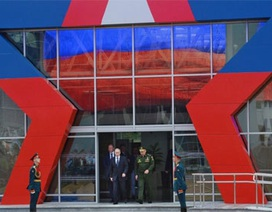 [Photo] Dàn vũ khí tối tân trong triển lãm quốc phòng ở Nga