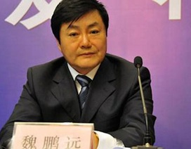 """Thêm một """"con hổ"""" ngành năng lượng Trung Quốc sa lưới tham nhũng"""