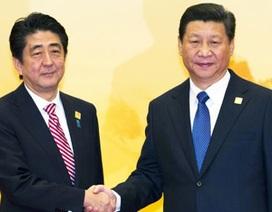 """Mọi con mắt đổ dồn về """"phép thử"""" quan hệ Nhật- Trung"""