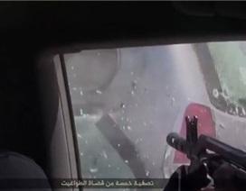 IS tung video xả súng điên cuồng vào 3 thẩm phán Ai Cập