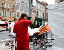 Áo: Ôtô lao vào đám đông người đi bộ khiến 37 người thương vong