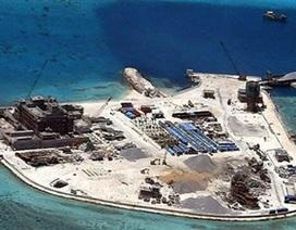Trung Quốc tiếp tục xây dựng trái phép trên biển Đông