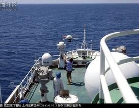Tàu hải giám 2168 lần đầu tiên đưa máy bay không người lái tuần tra tại Biển Đông