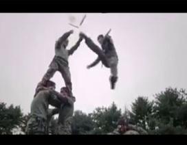 Video: Phát sốt với clip võ thuật quân đội Hàn Quốc