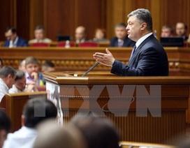 Ukraine: Cánh Hữu muốn Tổng thống Petro Poroshenko từ chức