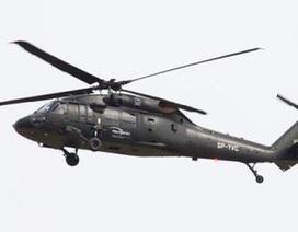 Trực thăng nổ tung khi đáp nhầm vào bãi mìn