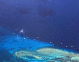 """Philippines: Trung Quốc """"khoe mẽ"""" công trình đảo cải tạo ở Biển Đông"""