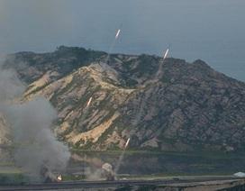 Triều Tiên xây căn cứ tại đảo sát Hàn Quốc