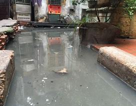 """Bài 11 vụ cụm dân cư ngập trong ô nhiễm: """"chìa khóa"""" nằm ở UBND quận Ba Đình"""